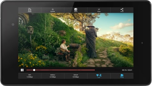 VideoBee for Android: combine Internet access and video streaming