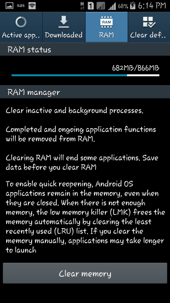 WHY YOU DON'T NEED TASK MANAGER AND HOW ANDROID MANAGE YOUR PHONE  RAM AND BACKGROUND SERVICES. 5