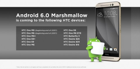 HTC One M9 Android 6.0 Upgrade Now Available.