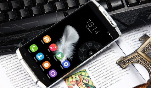 The New Oukitel K10000 Smartphone  will be equipped with a 10,000 mAh battery 1