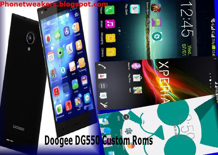 [Download][Firmware] All Doogee DG550 Custom Roms Collections.