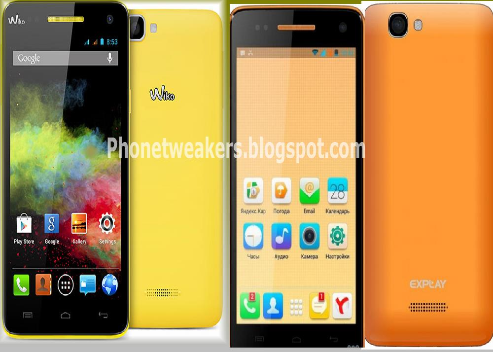 Wiko Rainbow and Explay Fresh Smartphones Specifications, Rooting, Recovery and  Firmware. 7