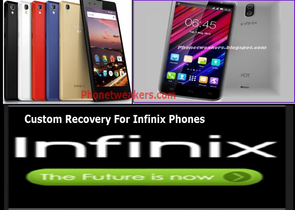 [Download][Recovery] Collections Of Custom Recovery For All Infinix Phones. 5