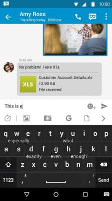 [Download][Apk] BlackBerry Keyboard Latest Version: 1.1.1.4474 1
