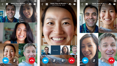 Skype for iOS and Android now supports group video calls 6