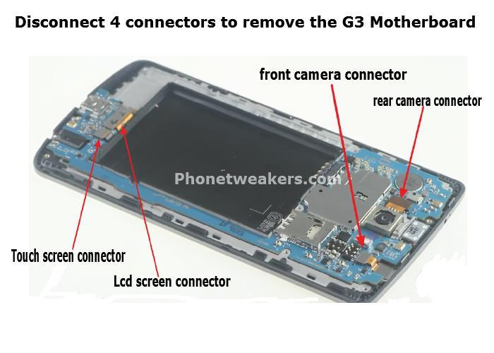 11 Easy Steps To LG G3  Screen Replacement With Image illustrations 10