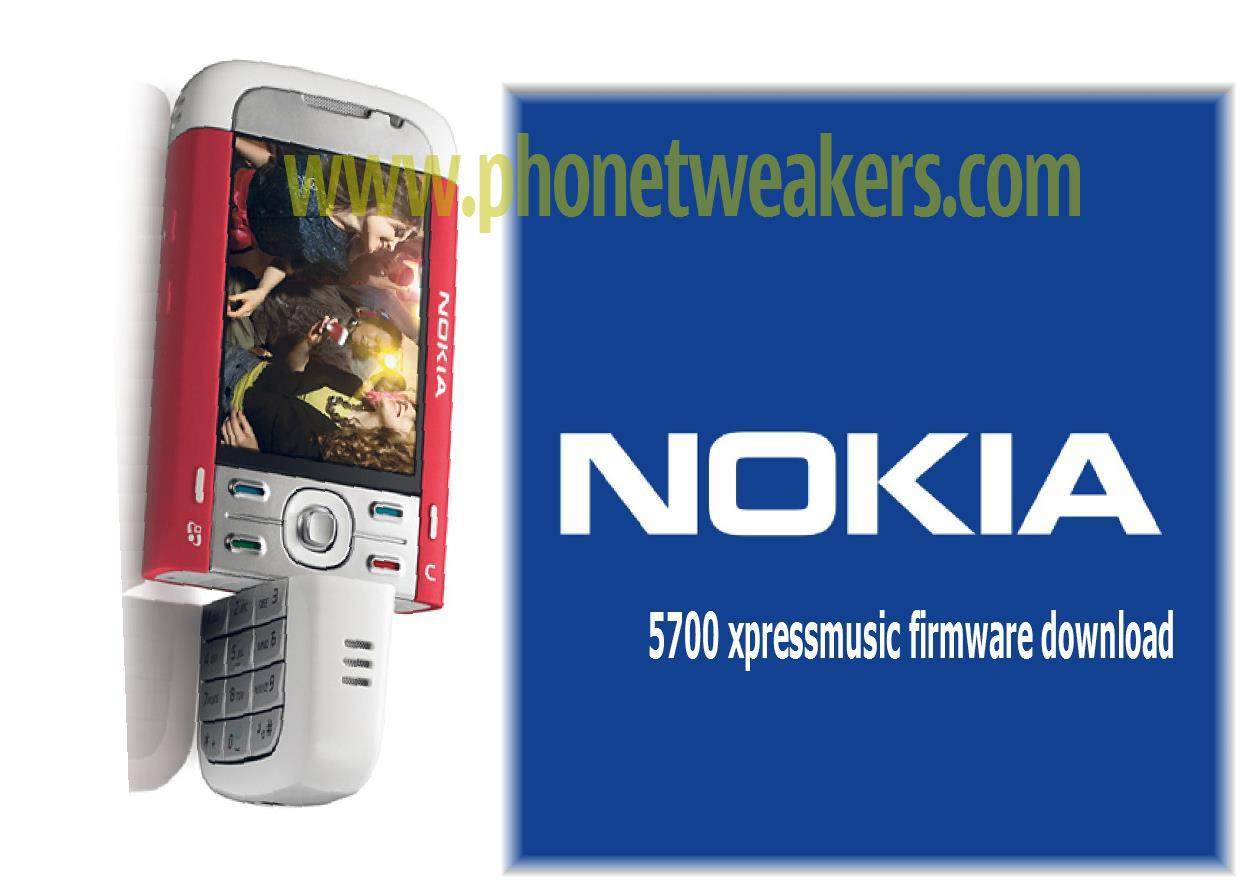 Nokia 5700 Xpressmusic Latest Firmware Download 3