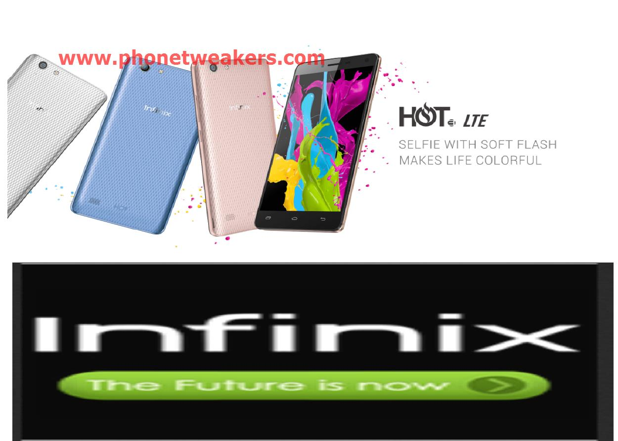 [Download] Stock Official INFINIX HOT 3 LTE X553 Firmware