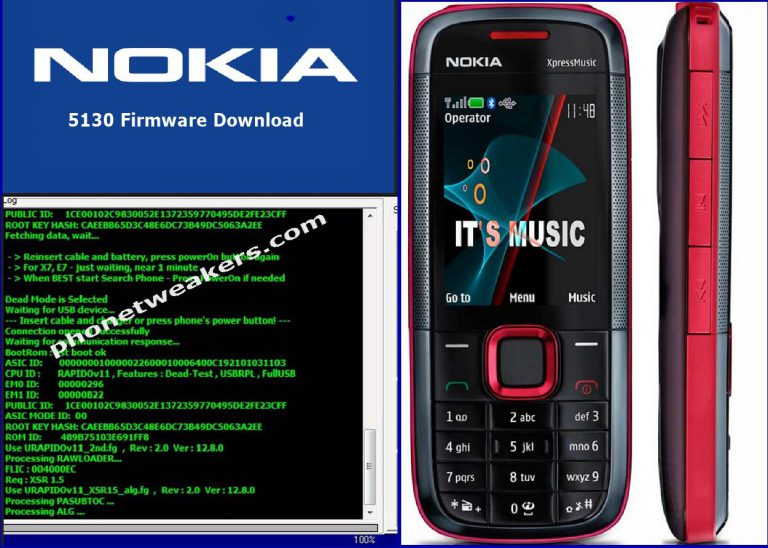 Nokia 5130 XpressMusic Latest Firmware Download