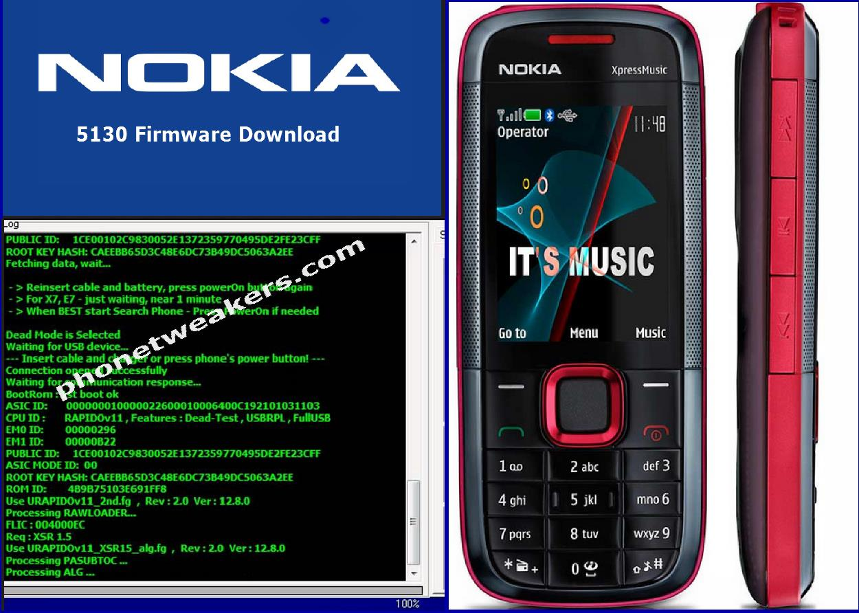 Nokia 5130 XpressMusic Latest Firmware Download 3