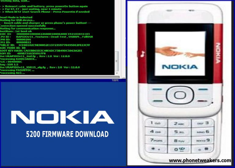 Nokia 5200 Latest Firmware Download