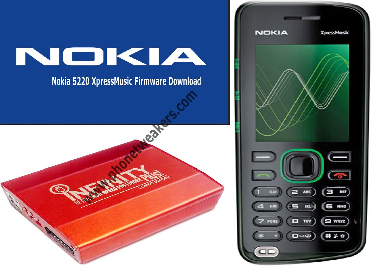 Nokia 5220 xpressmusic Latest Firmware download