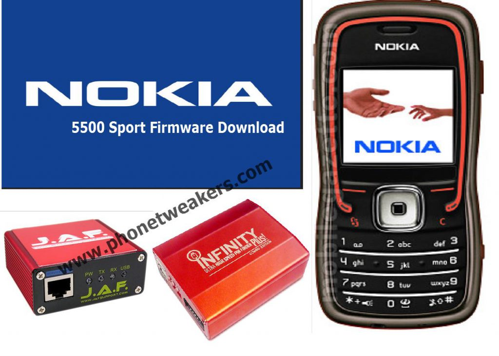 Nokia 5500 sport Latest Firmware Download 5