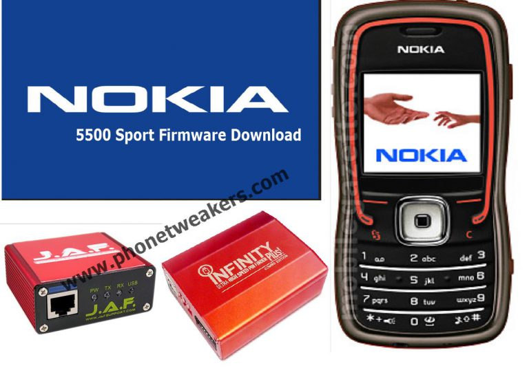 Nokia 5500 sport Latest Firmware Download