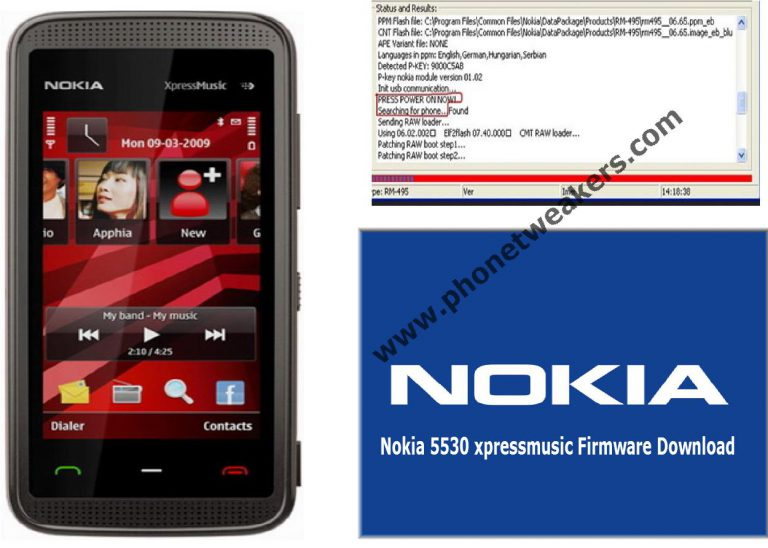Nokia 5530 Xpressmusic Latest Firmware Download
