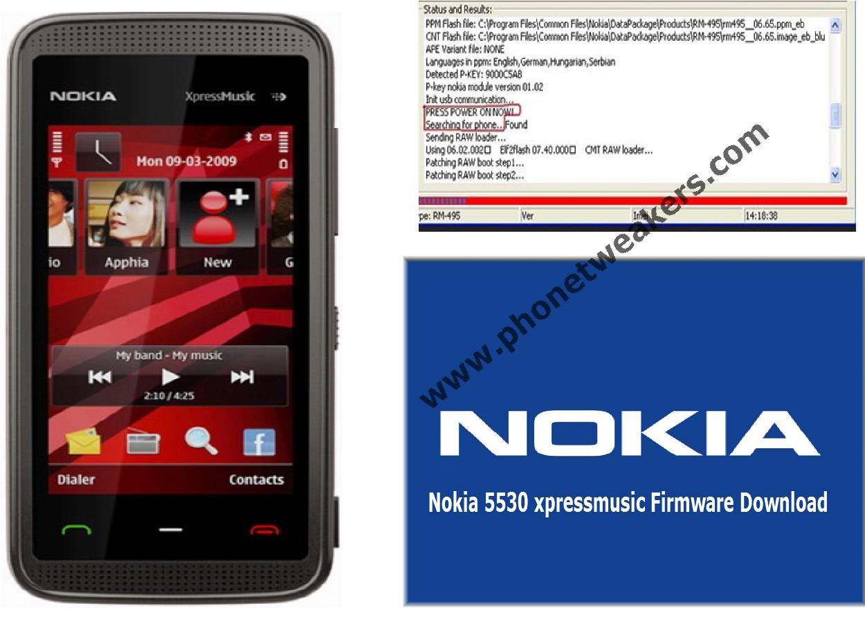 Nokia 5530 Xpressmusic Latest Firmware Download 1