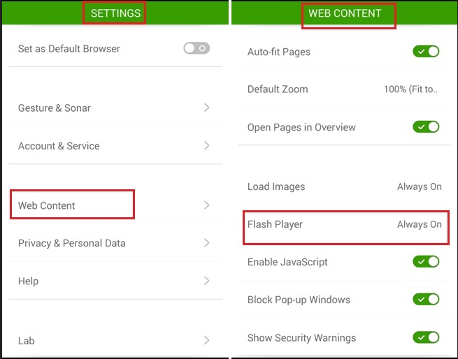 How to install Adobe Flash Player on All Android Phones 10