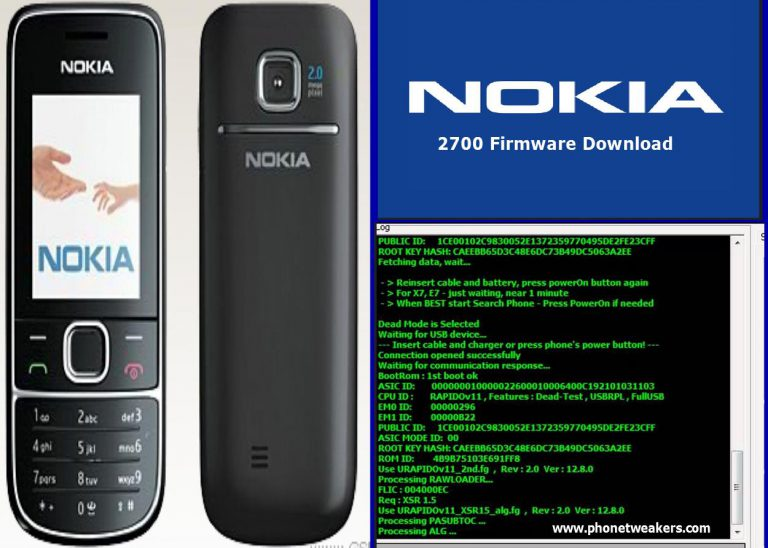 Nokia 2700 Latest Firmware Download