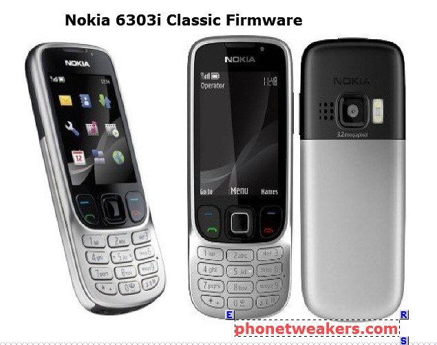 Nokia 6303i Classic Latest Firmware download 1
