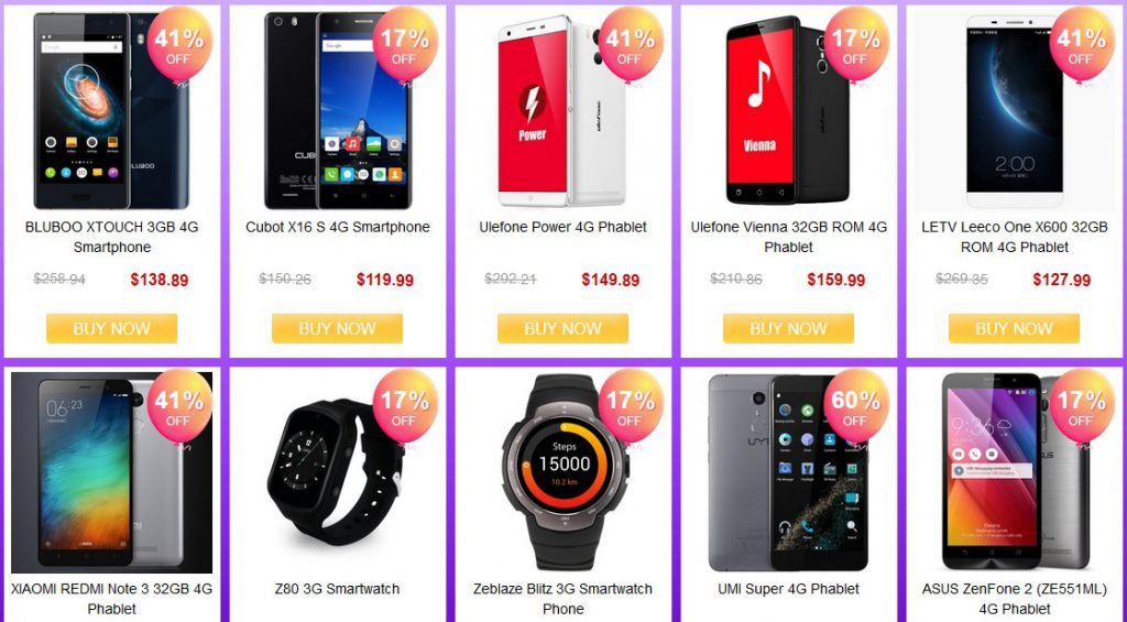 Back To School Promo From Aug 16- Aug 19 2016 (Gearbest) 11