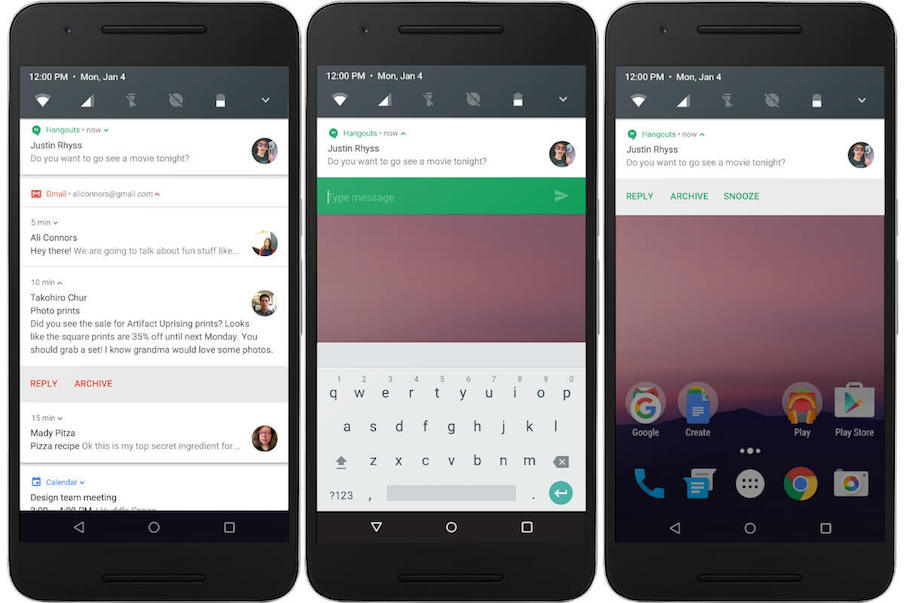 About Android 7.0 Nougat, Changes, Features And Information 12