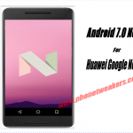 AOSP Nougat 7.0 Rom For Sony Xperia M and M dual 4