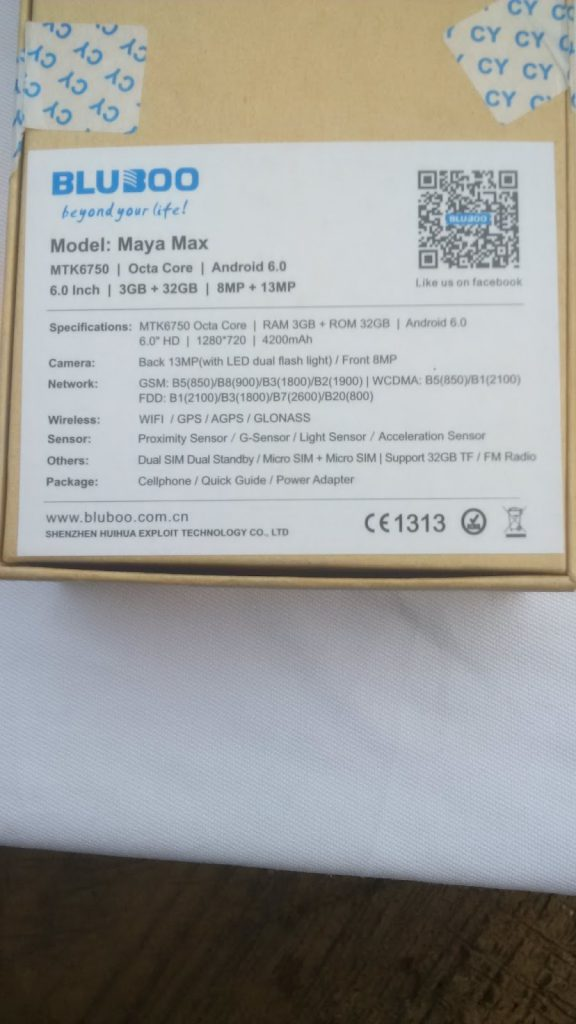 Unboxing the Bluboo Maya Max 4G+ Phablet- First impressions 6