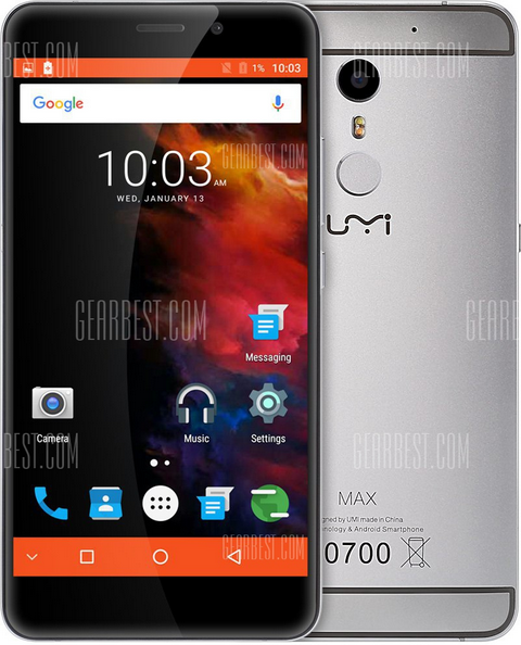Umi Max 4G Phablet, Specifications, Price And Detail Information 1