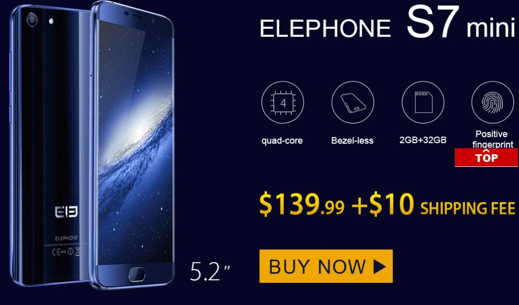 Buying The Xiaomi Mi5s Plus, Mi5s 4G And Elephone S7 Smartphone 7