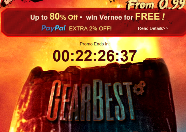 Gearbest Cyber Monday Promo up to 80% Discount Off 17