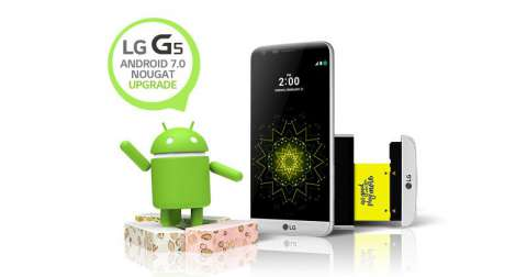 LG G5 Android 7.0 Nougat Official Update is Now Available. 3