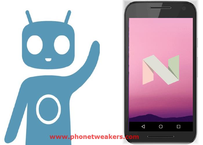 Official CyanogenMod 14.1 Nougat 7.1 Rom for Motorola Moto G 2015 1