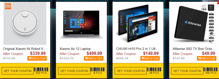 Gearbest Black Friday Sales Storm Promo is Here Again