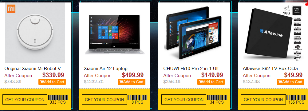 Gearbest Black Friday Sales Storm Promo is Here Again 6