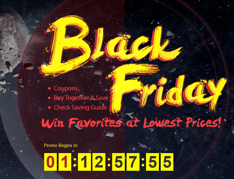 Gearbest Black Friday Sales Storm Promo is Here Again 5