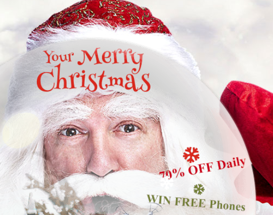 Merry Christmas Sales 2016: 70% Off On Smartphones and Gadgets