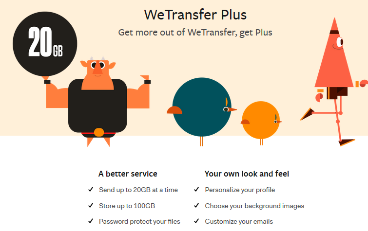 How to send large files and attachment by email using wetransfer 8