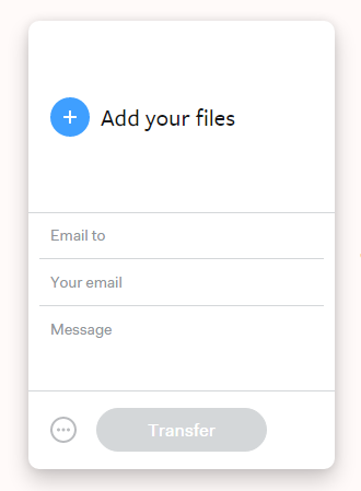 How to send large files and attachment by email using wetransfer 2