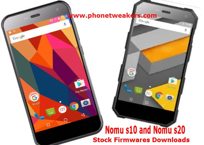 [Download][Firmware] NOMU S10 and NOMU S20 Official Stock Roms 3