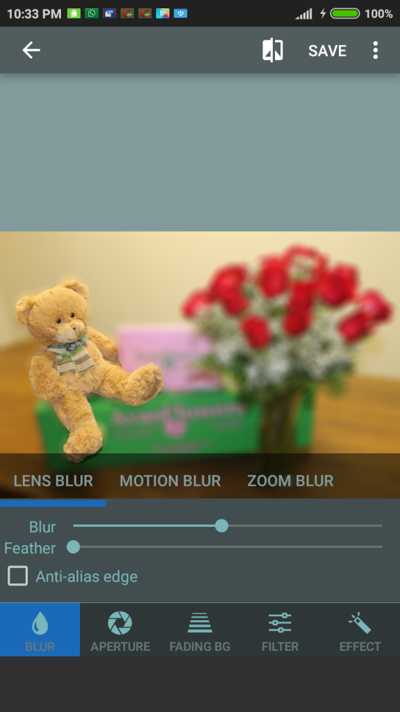 How to get a bokeh picture effect on any iOS and Android-smartphone? 12