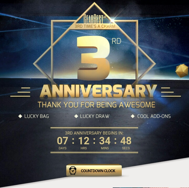 GEARBEST 3RD ANNIVERSARY | You're Invited 1