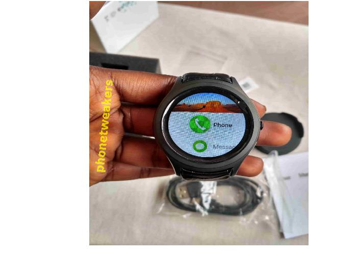 No.1 D5+ Smartwatch interface