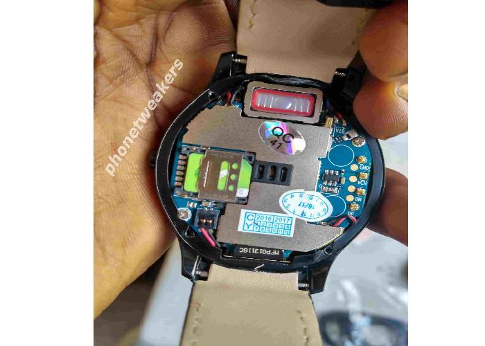 No.1 D5+ Smartwatch sim slot