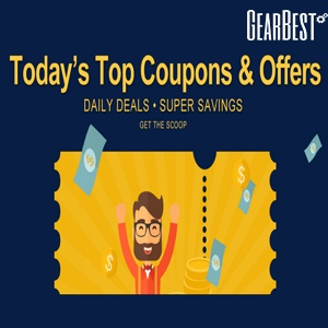 Top Coupons and Deals of the Week Gearbest 1
