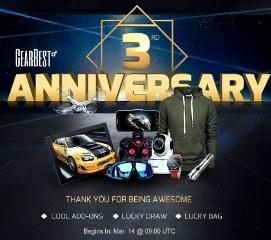 How to save more money to buy your favorite products during Gearbest's 3rd Anniversary 5