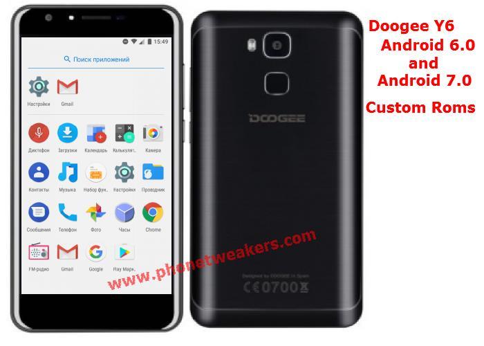 [Download][Firmware] All Doogee Y6 Custom Roms Collections 5