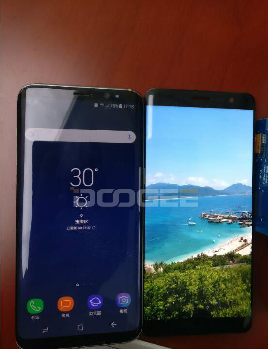 DOOGEE MIX Plus: a Cheap Alternative to Galaxy S8 9