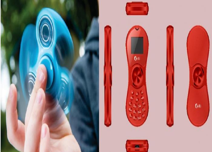 The World's First Fidget Spinning Mobile Phone is Here 5
