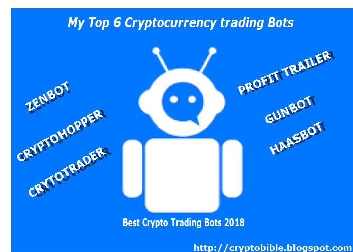 My Top 6 Cryptocurrency trading Bots 2018 (features, pros, cons and prices) 1