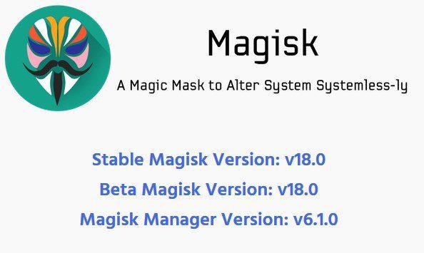 [Download] Official Magisk v18.0 stable version and Magisk Manager 6.1.0 1